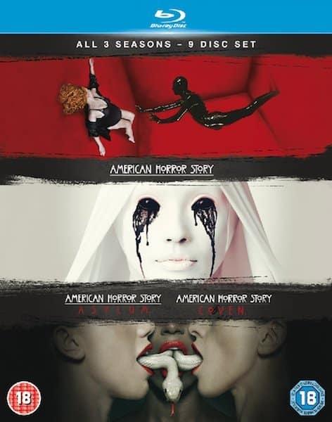 american horror story - alle staffeln - die kultige splasher psycho horrorserie aus amerika