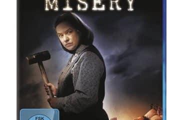 Misery der Horror-Psychofilm mit James Caan und Kathy Bates