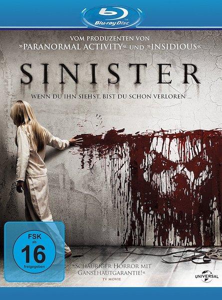 Sinister der Horror Dämonen Geisterhausfilm